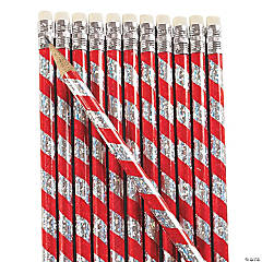 Candy Cane Prism Pencils