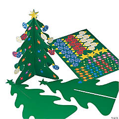 Holiday 3D Trees & Stickers
