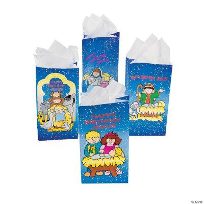 """""""Happy Birthday Jesus"""" Bags"""