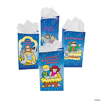 """Happy Birthday Jesus"" Bags"