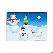 Snowman Mini Sticker Scenes