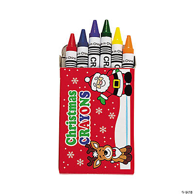 Holiday Crayons
