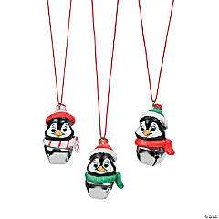 Penguin Jingle Bell Necklaces