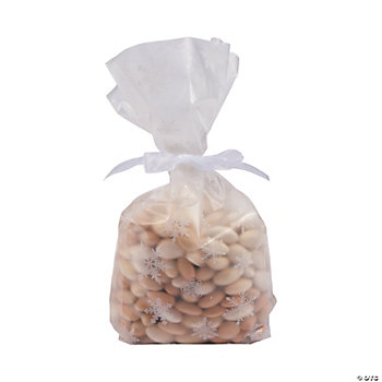 Frosted Snowflake Treat Bags