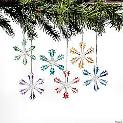 Colorful Snowflake Ornaments