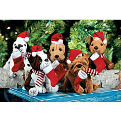 Realistic Holiday Dogs
