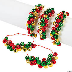 Multicolor Jingle Bell Bracelets