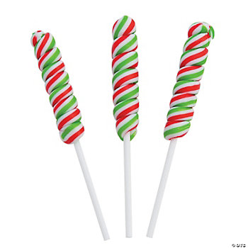 Holiday Twist Pops