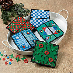 Holiday Magnetic Travel Games