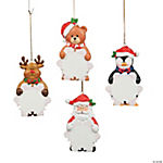 Snowflake Character Personalized Christmas Ornaments