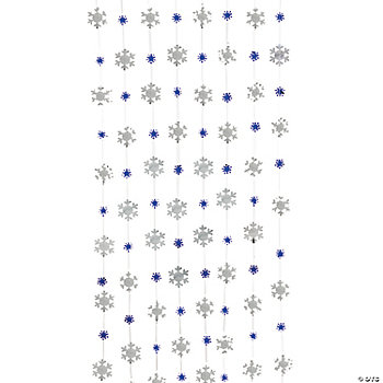 Snowflake String Decorations