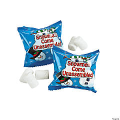 Marshmallow Snowman Treat Packs