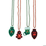 Holiday Light-Up Necklaces