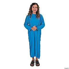 Light Blue Nativity Gown Child Costume