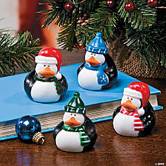 Penguin Rubber Duckies