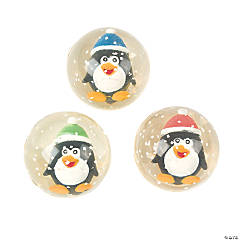 Penguin Bouncing Balls