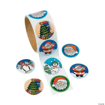 Holiday Roll of Stickers