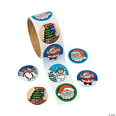 Holiday Roll Stickers