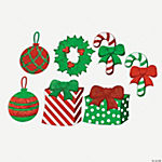 Christmas Cutouts With Glitter