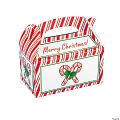 Candy Cane Treat Boxes