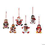 Christmas Character Photo Frame Ornaments