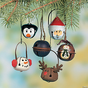 Jingle Bell Ornament Assortment