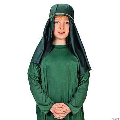 Green Nativity Child Hat
