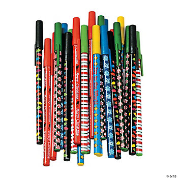Holiday Stick Pen Assortment