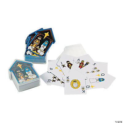 Nativity Playing Cards