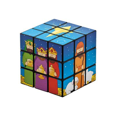 Christian Christmas giveaways magic cube toys