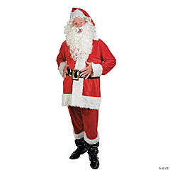 Santa Suit Adult Plus-Size Costume