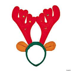 Light-Up Musical Reindeer Antlers Headband