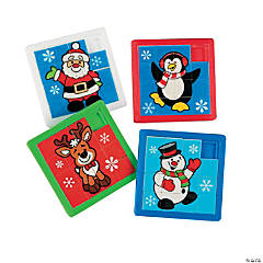 Holiday Slide Puzzles