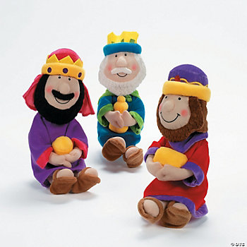 Plush Three Wise Men Dolls