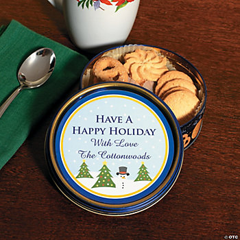 Holiday Cookie Tins