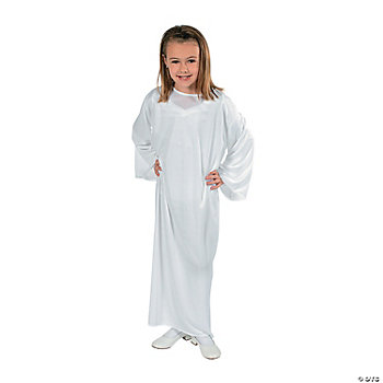 Child Nativity Gown - White