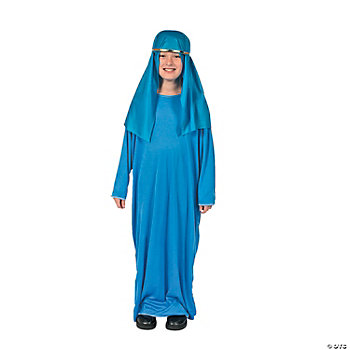 Child Light Blue Nativity Gown