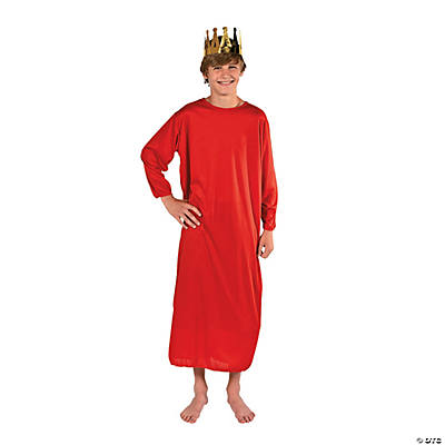 Child Nativity Gown - Red