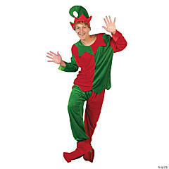 Elf Adult Costume -Men's One Size