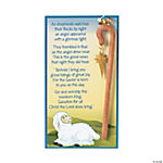 Shepherd Staff Ornaments On Card