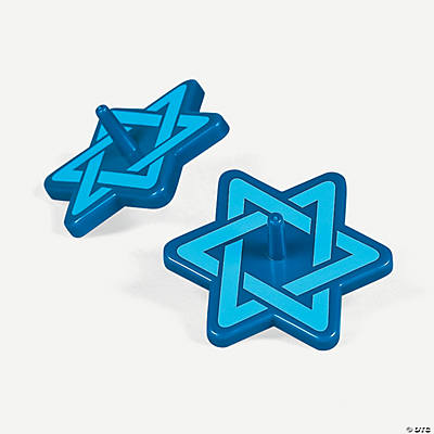 Large Star of David Spinners