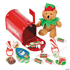 Red Mailbox With Christmas Candy