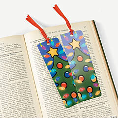 """Blinking"" Christmas Lights Lenticular Bookmarks"