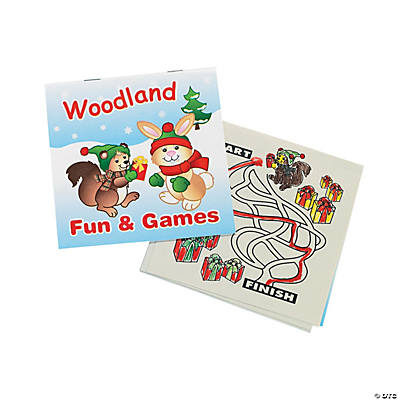 """Woodland Fun & Games"" Activity Books"