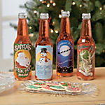 Holiday Drink Bottle Labels