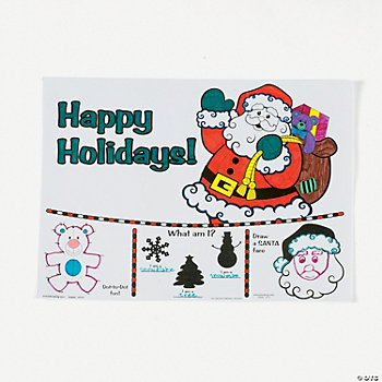 Holiday Activity Sheets