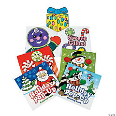Holiday Pop-Up Coloring Books