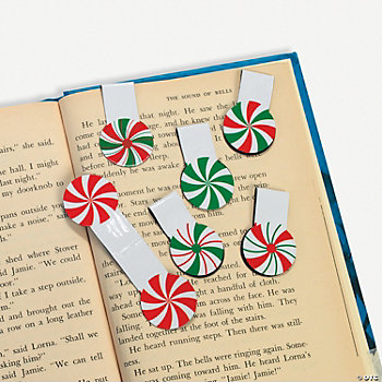 Peppermint Clip Bookmarks