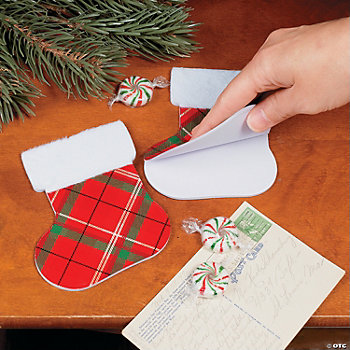 Traditional Tartan Stocking Notepads