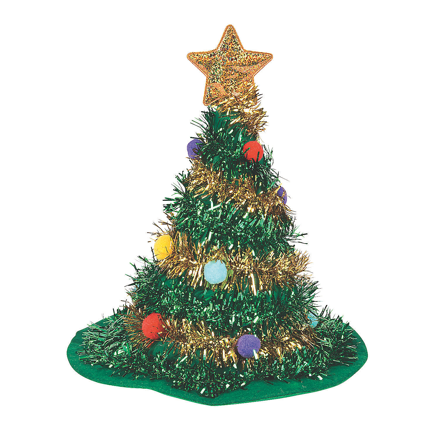 Red Christmas Tree Topper